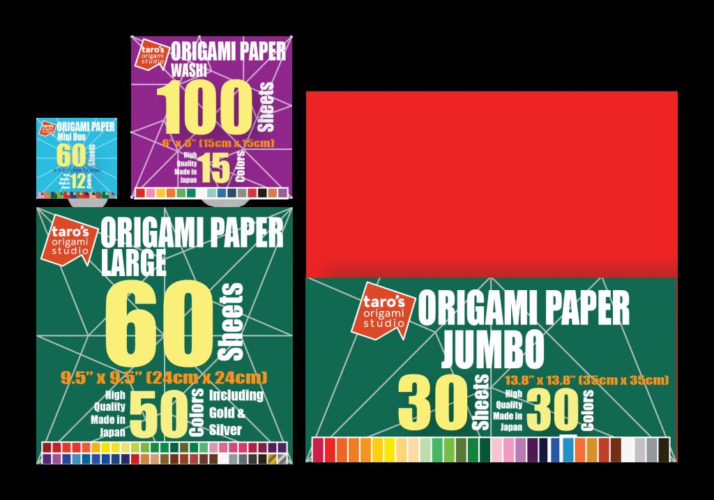 Taros Origami Paper