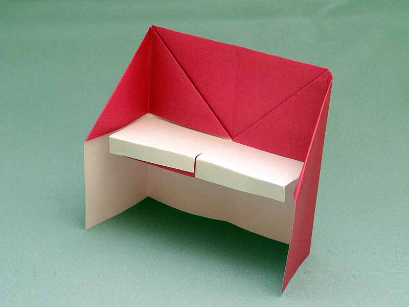 Instructions on how to create an Origami Piano | Origami diagrams ... | 600x800