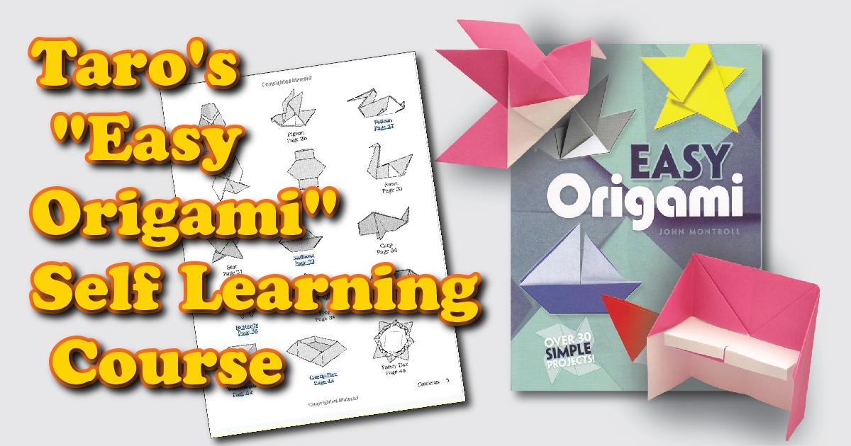 Full E-book Easy Origami (Dover Craft Books) (Dover Origami ... | 630x1200