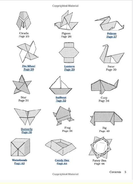 Origami Fish Base | 641x466