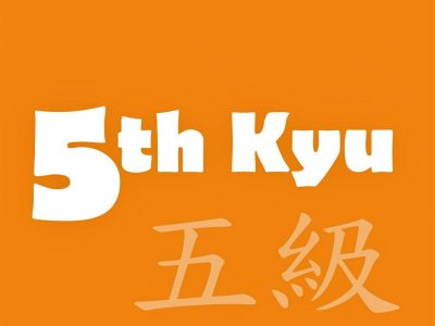5th-Kyu Orange Belt