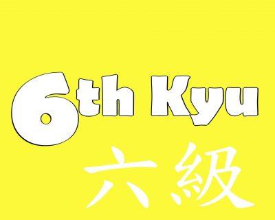 6th-Kyu Yellow Belt