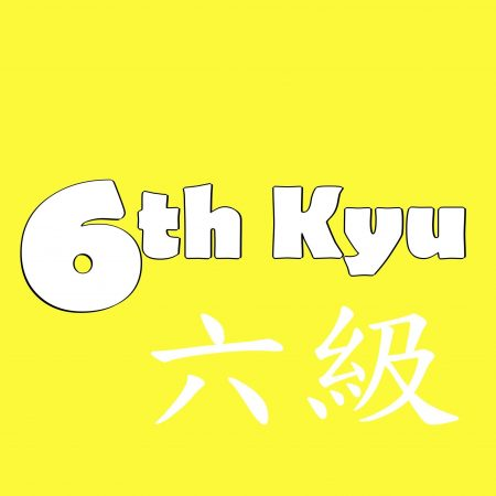6th-Kyu Yellow Belt
