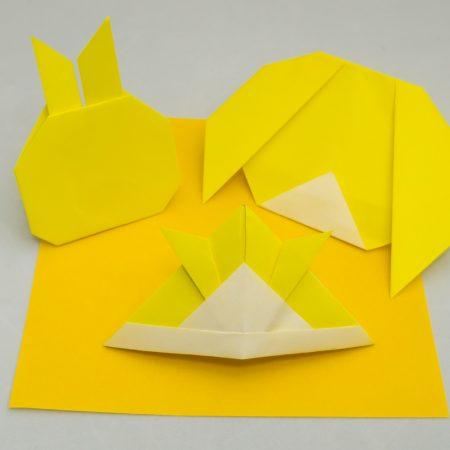 6th-Kyu Yellow Belt Basic Folds for Taro's Origami Method