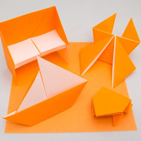5th-Kyu Orange Belt Basic Folds for Taro's Origami Method