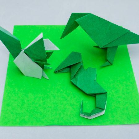 2nd-Kyu Green Belt Basic Folds for Taro's Origami Method