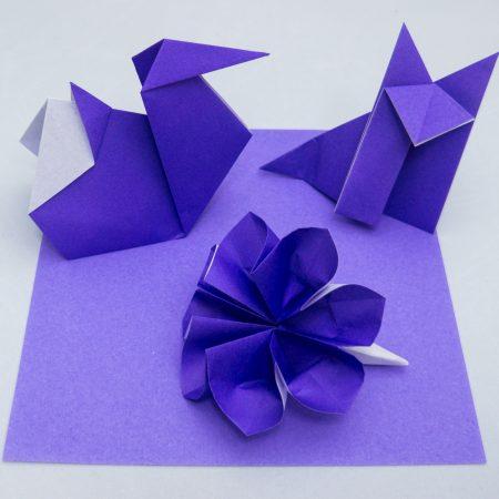3rd-Kyu Purple Belt Basic Folds for Taro's Origami Method