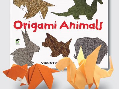 "Taro's Intermediate ""Origami Animal "" Self Learning Course"