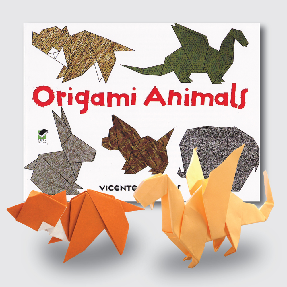 Origami animal 3D model - TurboSquid 1441975 | 1000x1000