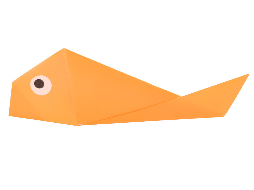 Fish Easyorigami Taros Origami Studio E Learning And Shop