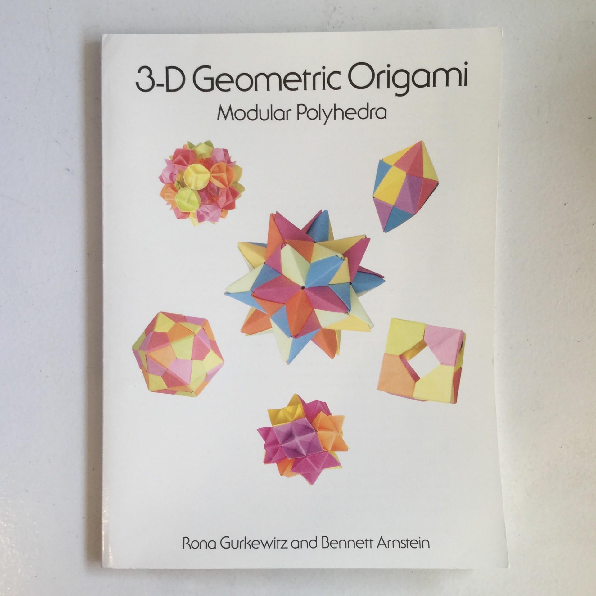 3d Geometric Origami Modular Polyhedra Taros Origami Studio E