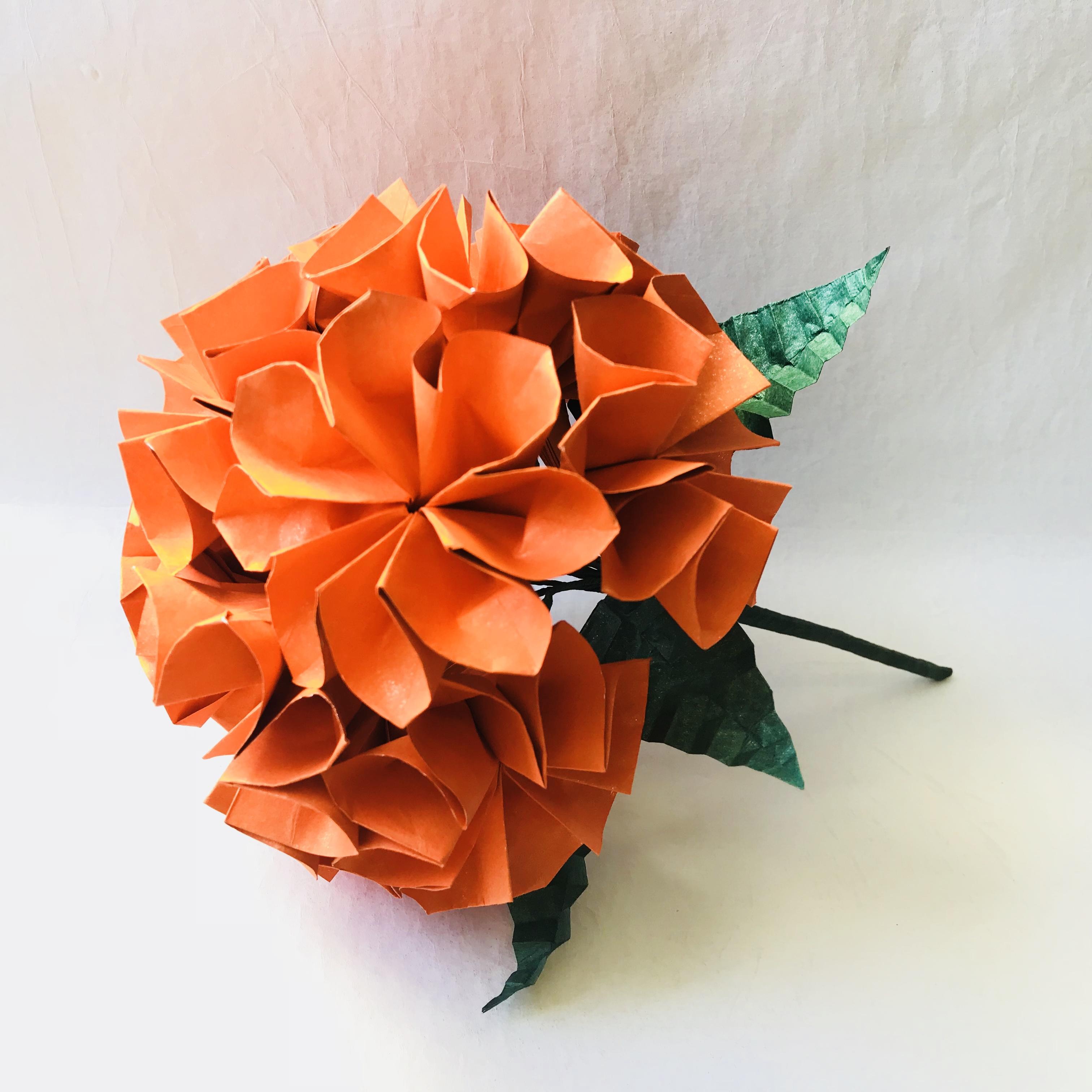 Flower Bouquet Chrysanthemums Taros Origami Studio E Learning