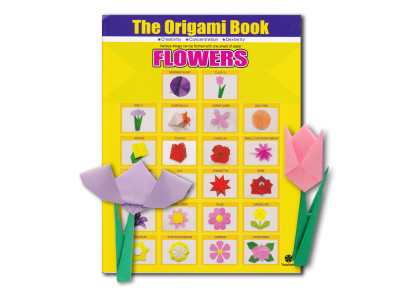 "Taro's ""The Origami Book Flowers"" Self Learning Course and the Course Book Bundle"